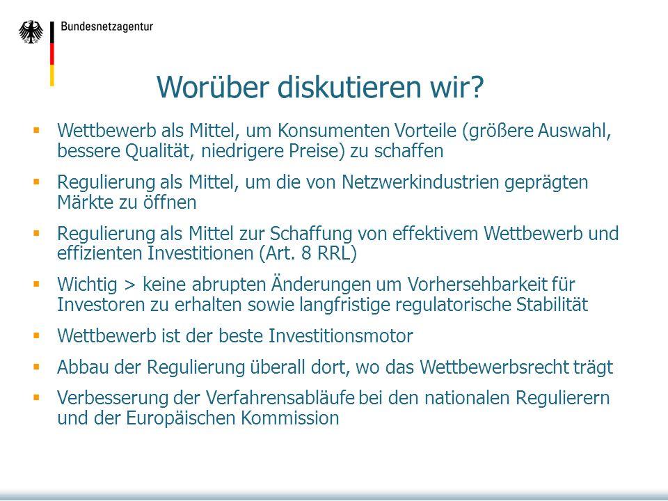 Ansatz der European Regulators Group (ERG) Ablehnung der Ausdehnung des Vetorechts auf Remedies Art.