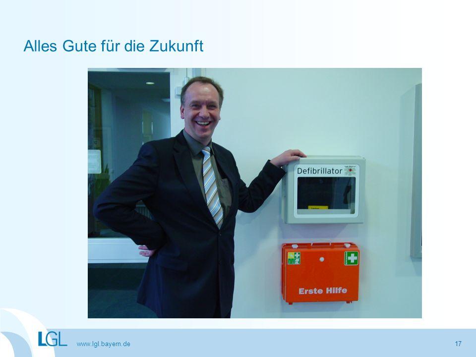 www.lgl.bayern.de 17 Alles Gute für die Zukunft