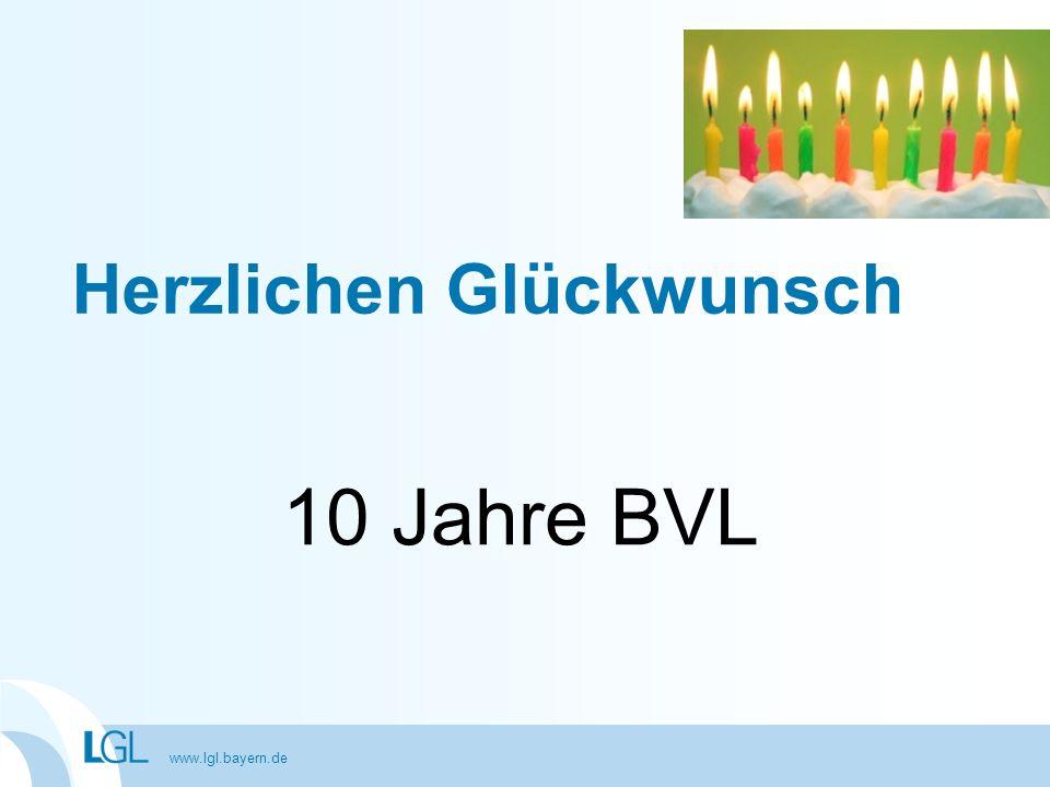 www.lgl.bayern.de Zusammenarbeit BVL – Laboratorien der Länder Analytik und Beurteilungen Ausnahmegenehmigungen nach § 68 LFGB Allgemeinverfügungen nach § 54 LFGB Anzeigen von Nahrungsergänzungsmitteln Genehmigungen von bestimmten diätetischen Lebensmitteln