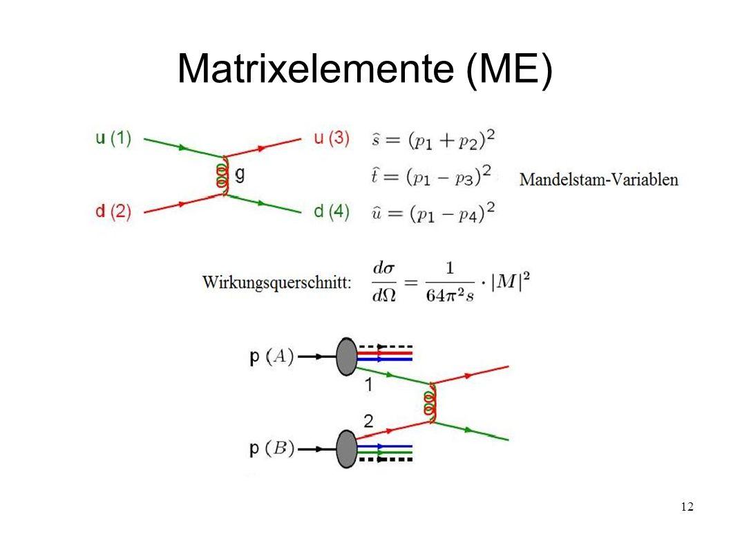 12 Matrixelemente (ME)