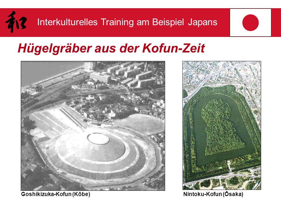 Interkulturelles Training am Beispiel Japans Hügelgräber aus der Kofun-Zeit Goshikizuka-Kofun (Kōbe)Nintoku-Kofun (Ōsaka)