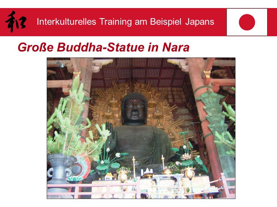 Interkulturelles Training am Beispiel Japans Große Buddha-Statue in Nara