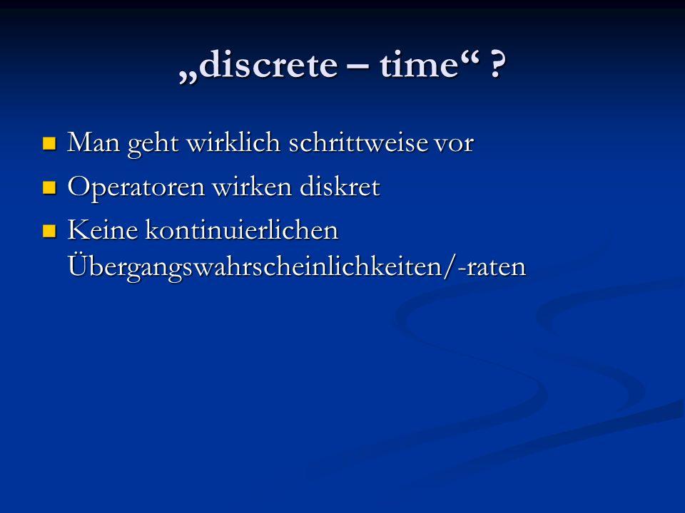 discrete – time .