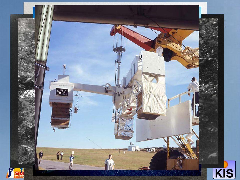 M. SIgwarth, Sonnenforschung mit Ballonteleskopen 13 Der Flug von Spektrostratoskop: