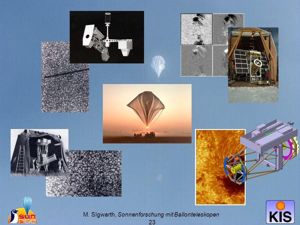 M. SIgwarth, Sonnenforschung mit Ballonteleskopen 23