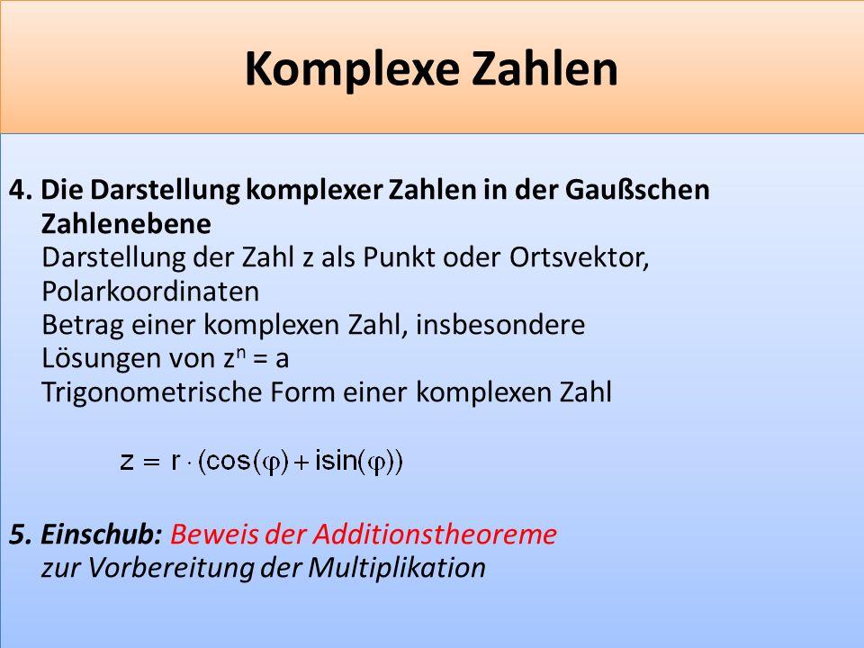 F 23 Komplexe Zahlen 4.