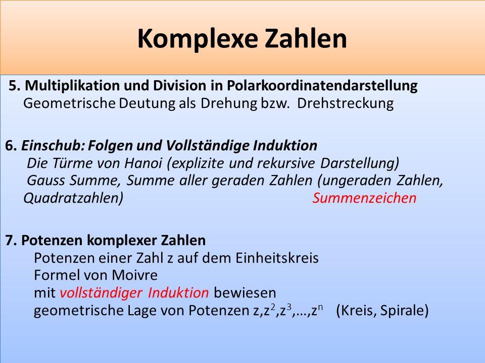 F 24 Komplexe Zahlen 5.