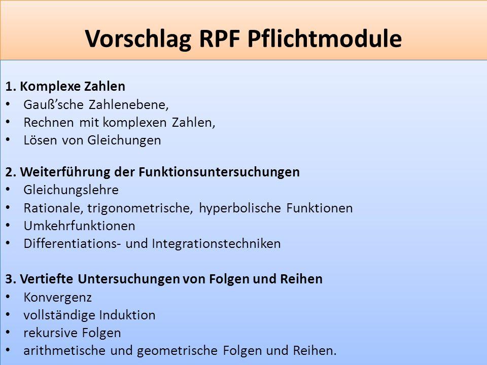 F 3 Vorschlag RPF Pflichtmodule 1.