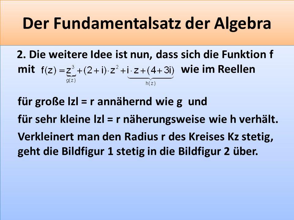 F 37 Der Fundamentalsatz der Algebra 2.