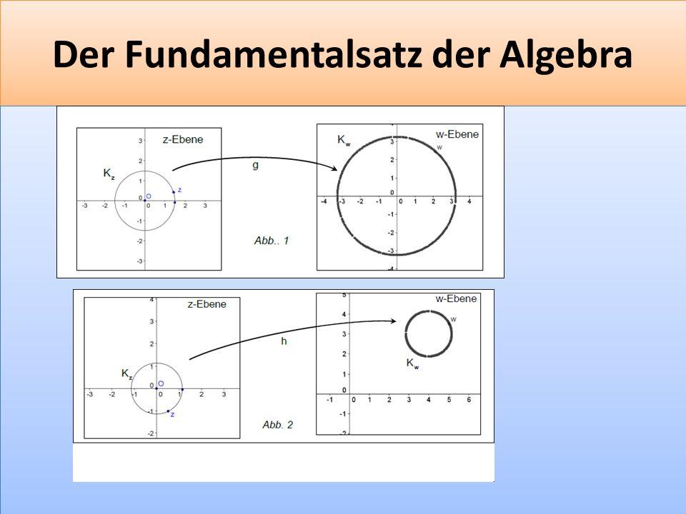 F 38 Der Fundamentalsatz der Algebra
