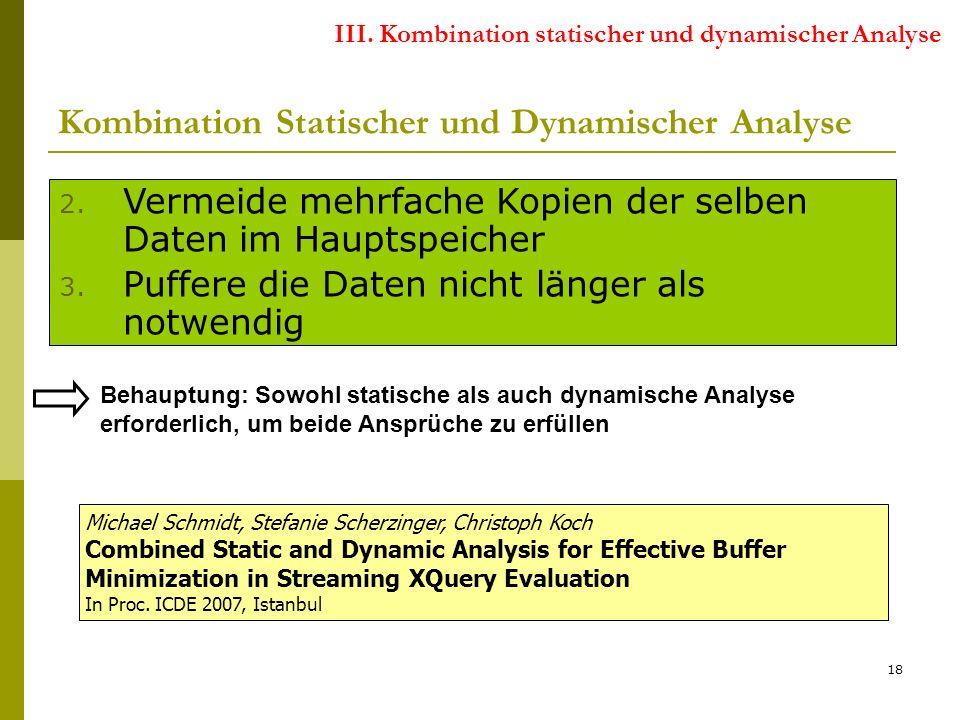 18 Kombination Statischer und Dynamischer Analyse 2.