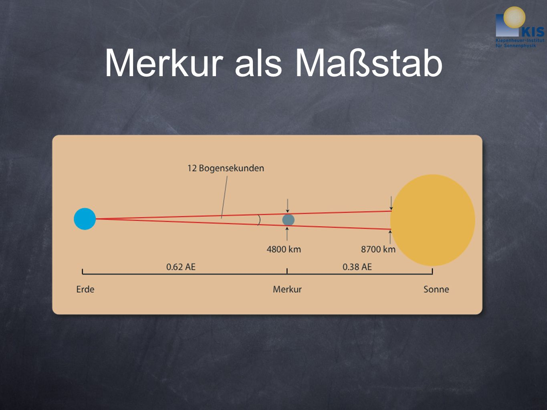 Merkur als Maßstab