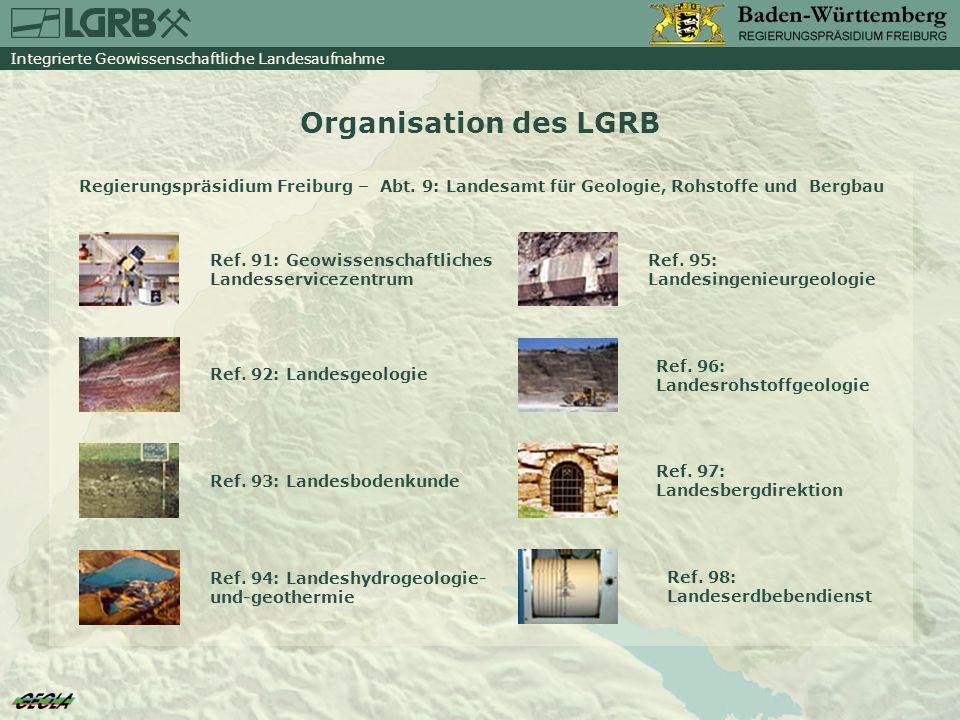 Integrierte Geowissenschaftliche Landesaufnahme Integriert.