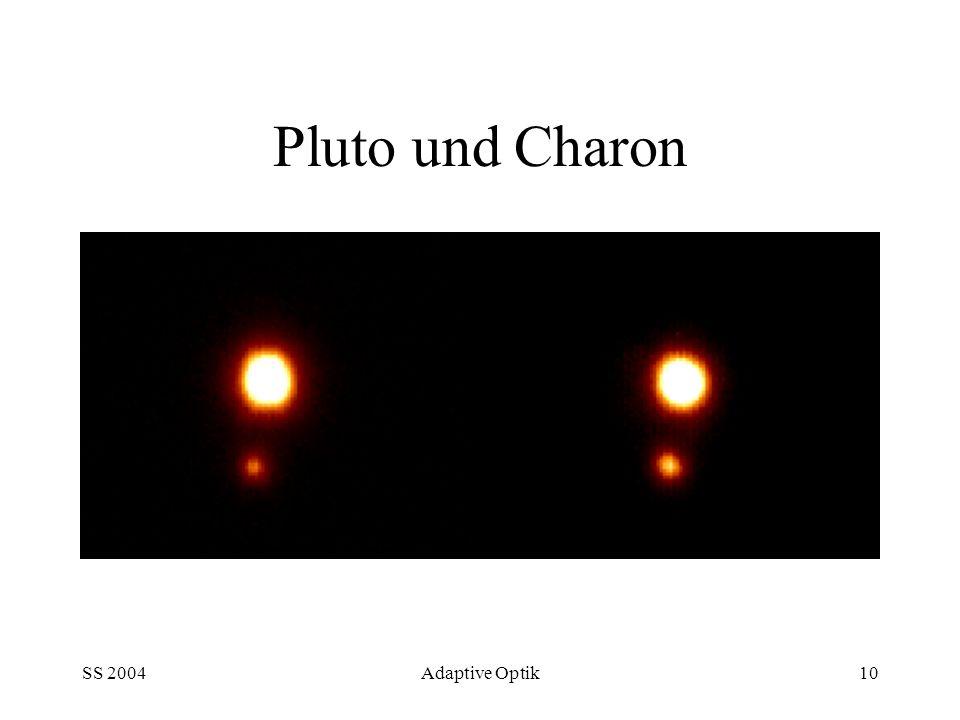 SS 2004Adaptive Optik10 Pluto und Charon