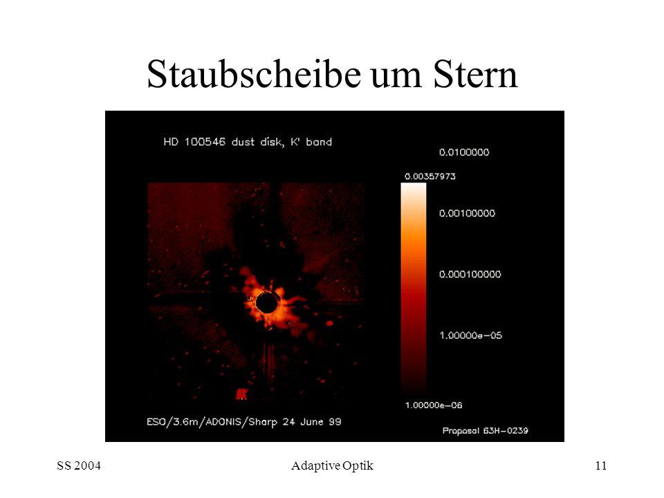 SS 2004Adaptive Optik11 Staubscheibe um Stern