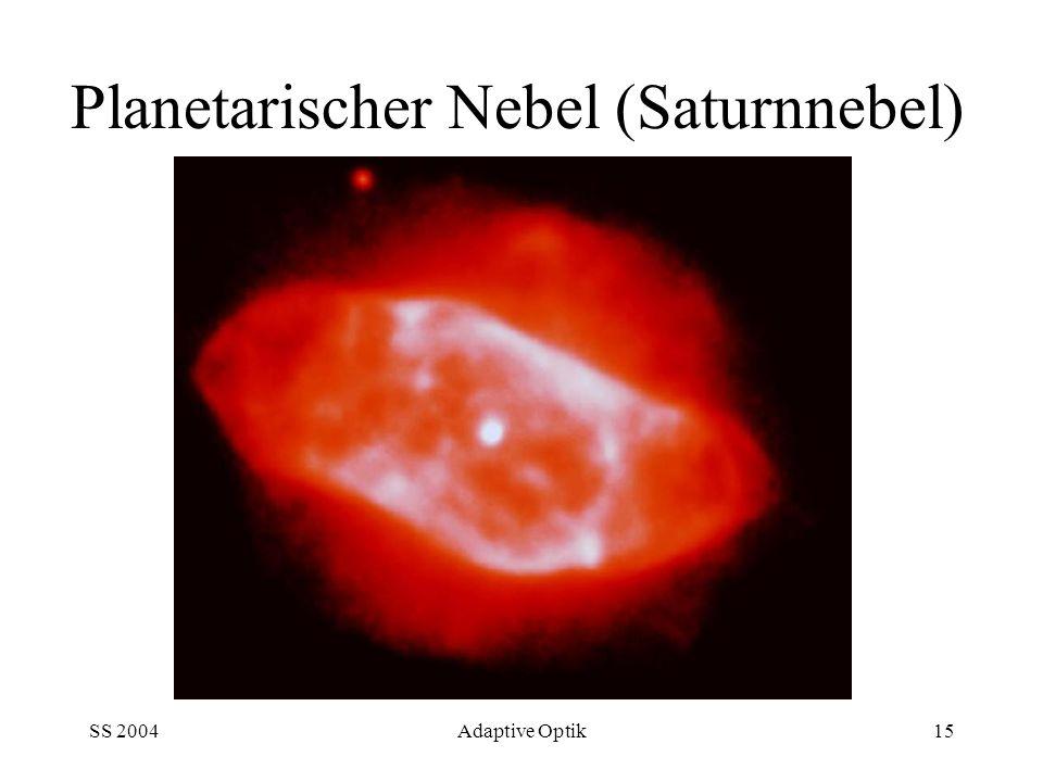SS 2004Adaptive Optik15 Planetarischer Nebel (Saturnnebel)