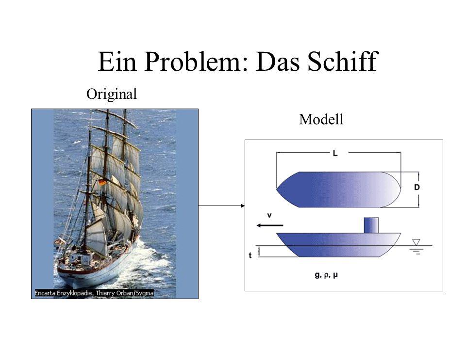Ein Problem: Das Schiff Original Modell