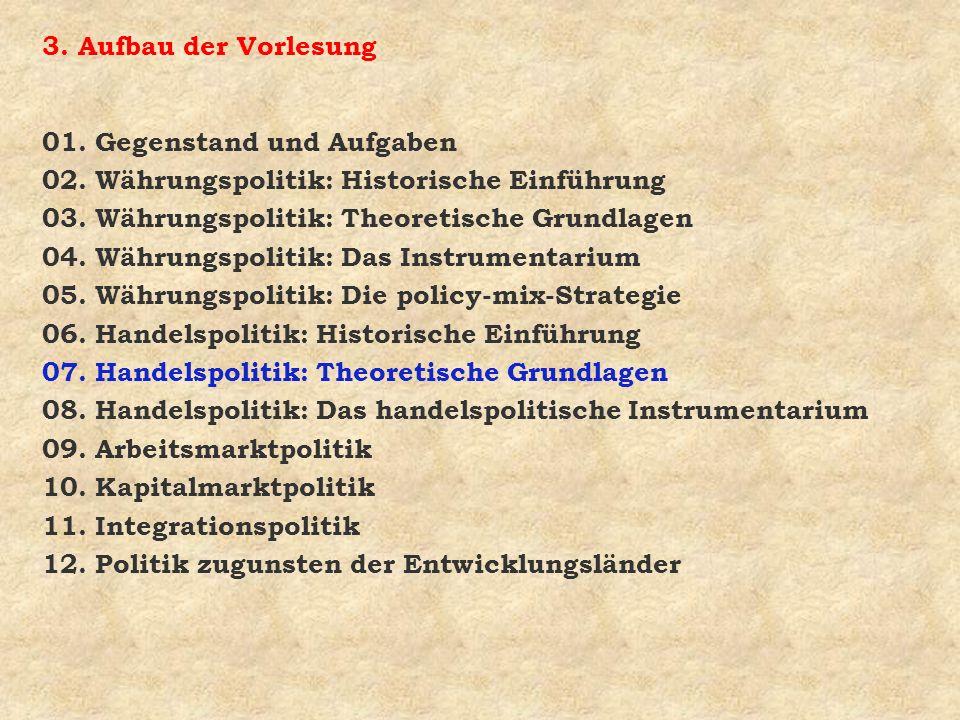Frage 4: Was sind die wichtigsten Aussagen des Heckscher- Ohlin-Theorems .