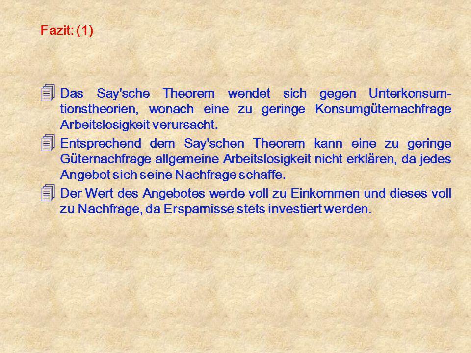 Kapitel V: Die theoretischen Grundlagen der Beschäftigungs-politik 01.