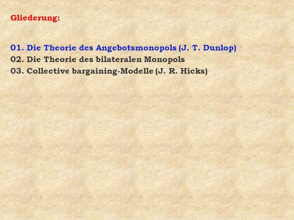 Frage 3: Welches sind die Grundzüge der Collective bargaining-Modelle (J.