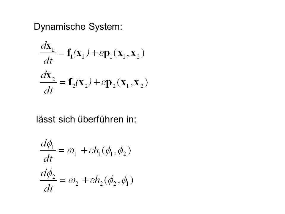 Dynamische System: lässt sich überführen in: