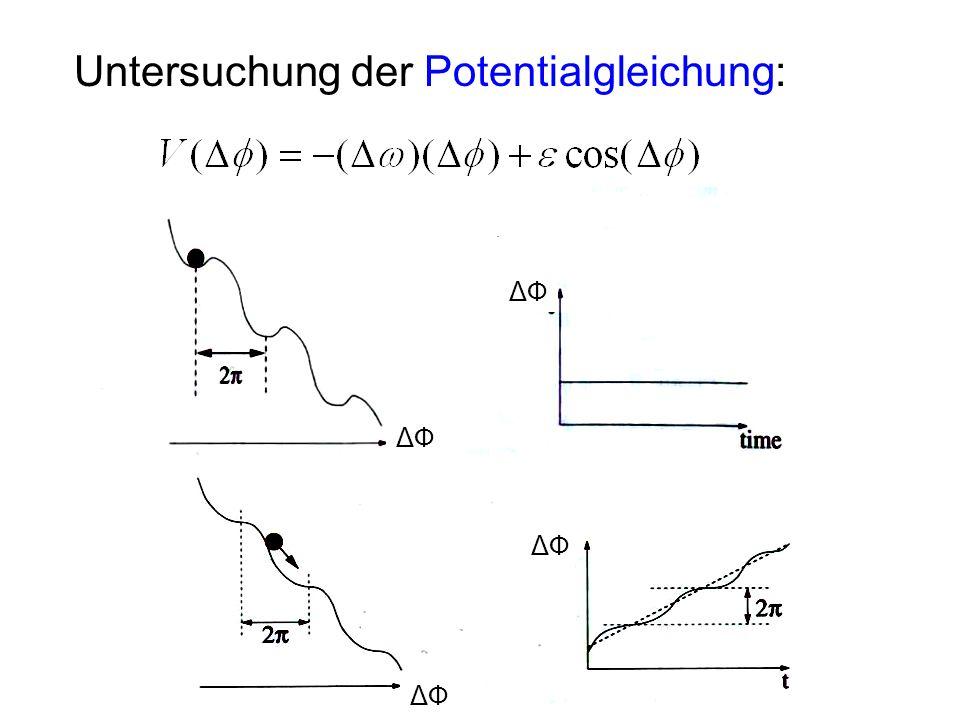 ΔФΔФ ΔФΔФ Untersuchung der Potentialgleichung: ΔФΔФ ΔФΔФ