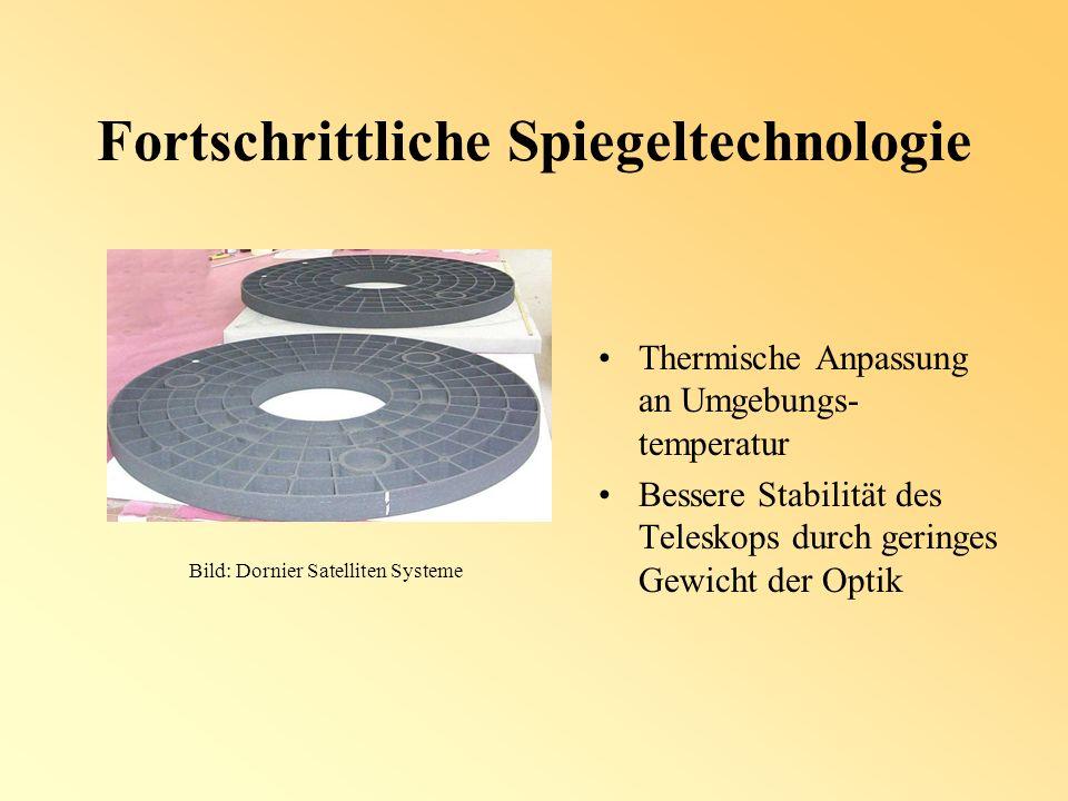 Adaptive Optik Kompensation atmosphärischer Störungen während der Beobachtung