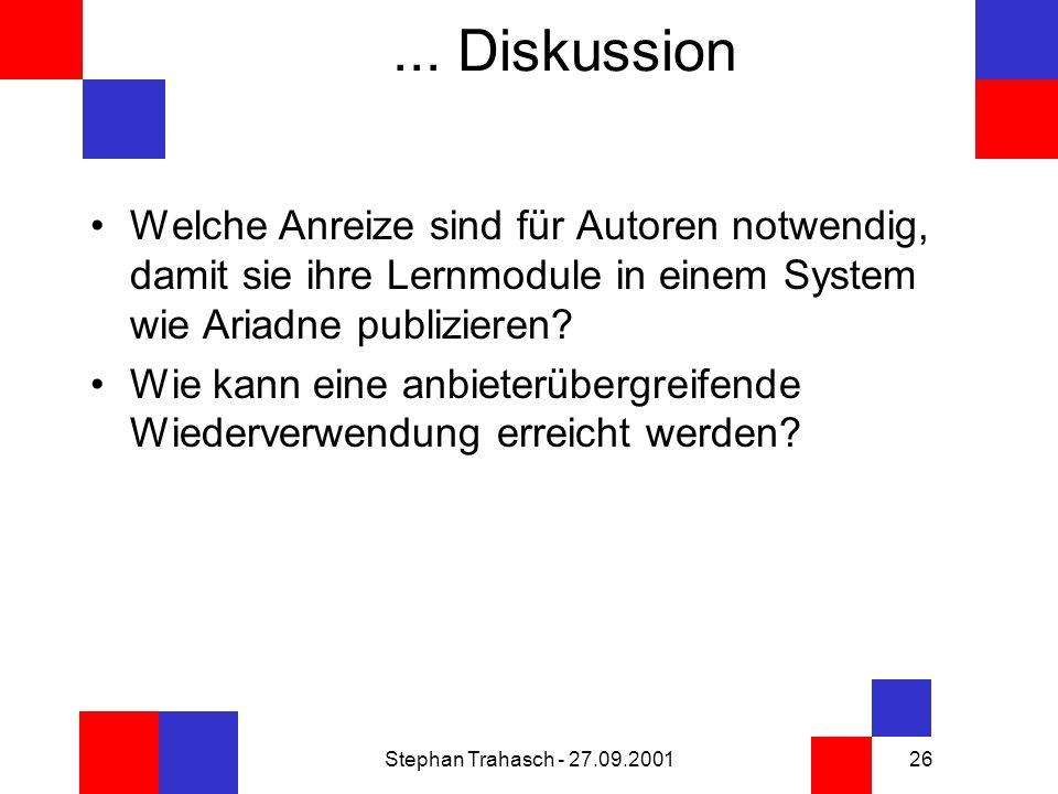 Stephan Trahasch - 27.09.200126...