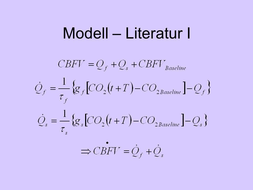 Modell – Literatur I