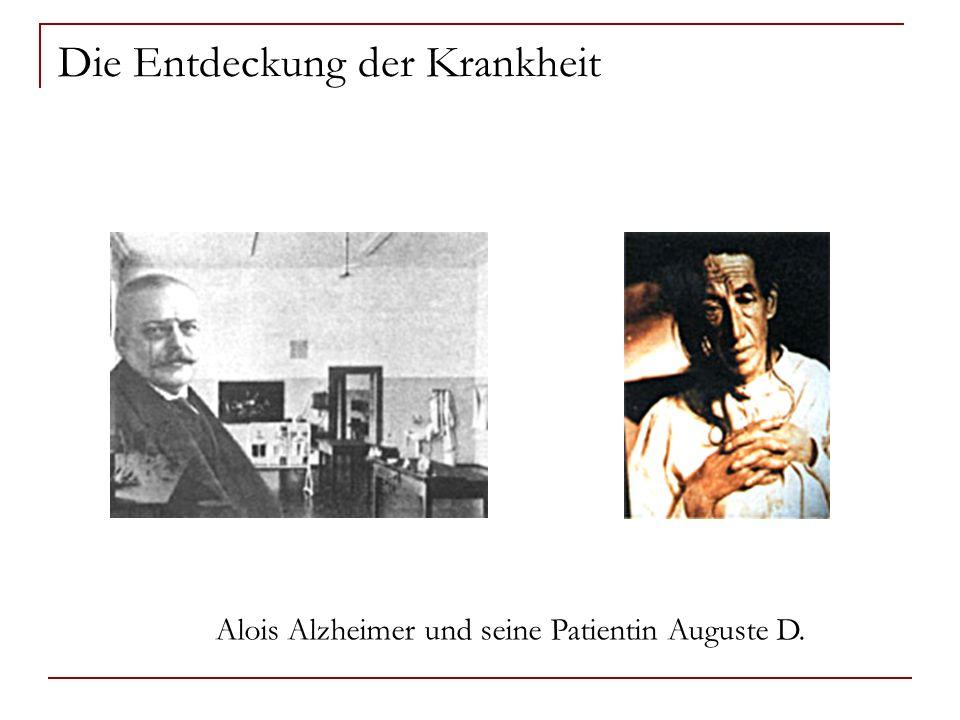 Die Entdeckung der Krankheit Alois Alzheimer und seine Patientin Auguste D.