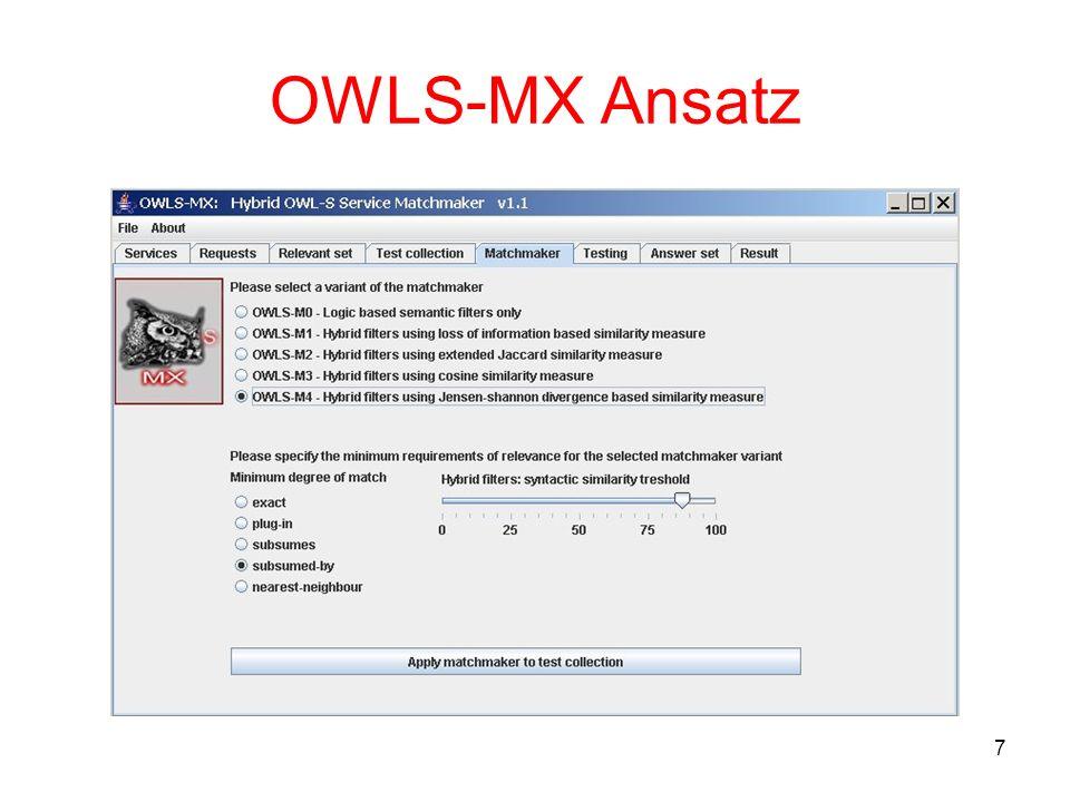 7 OWLS-MX Ansatz