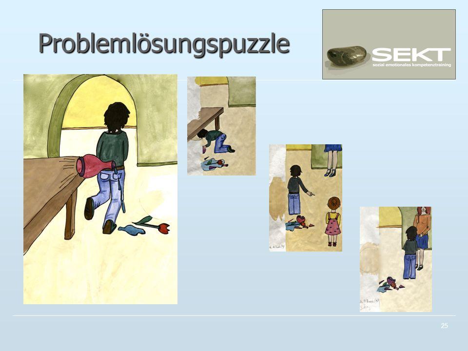 Problemlösungspuzzle 25