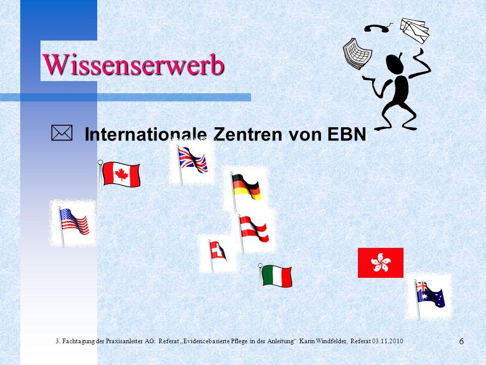 Nationales Zentrum für EBN Gründung: 1998 von Prof.