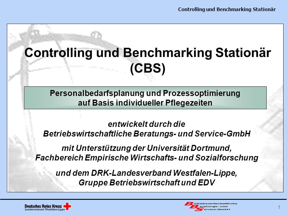 Controlling und Benchmarking Stationär 22