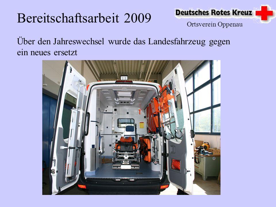 Ortsverein Oppenau Blutspende 2009