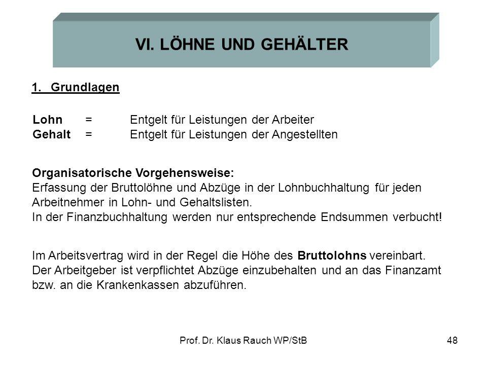Prof.Dr. Klaus Rauch WP/StB48 VI.