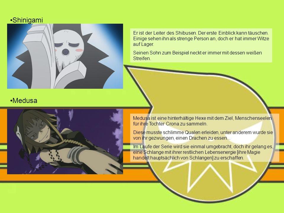 Shinigami Er ist der Leiter des Shibusen.Der erste Einblick kann täuschen.