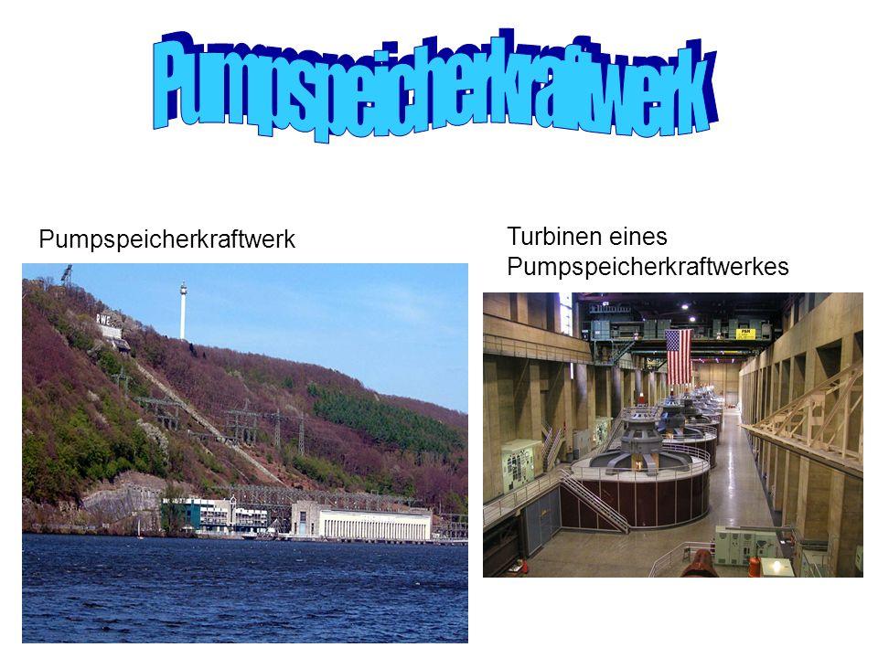 Pumpspeicherkraftwerk Turbinen eines Pumpspeicherkraftwerkes