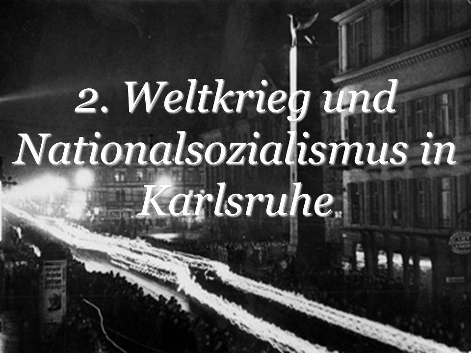 Luftkrieg 27.September 1944 Schlimmster nicht vorhergesehener Luftangriff auf Karlsruhe 4.