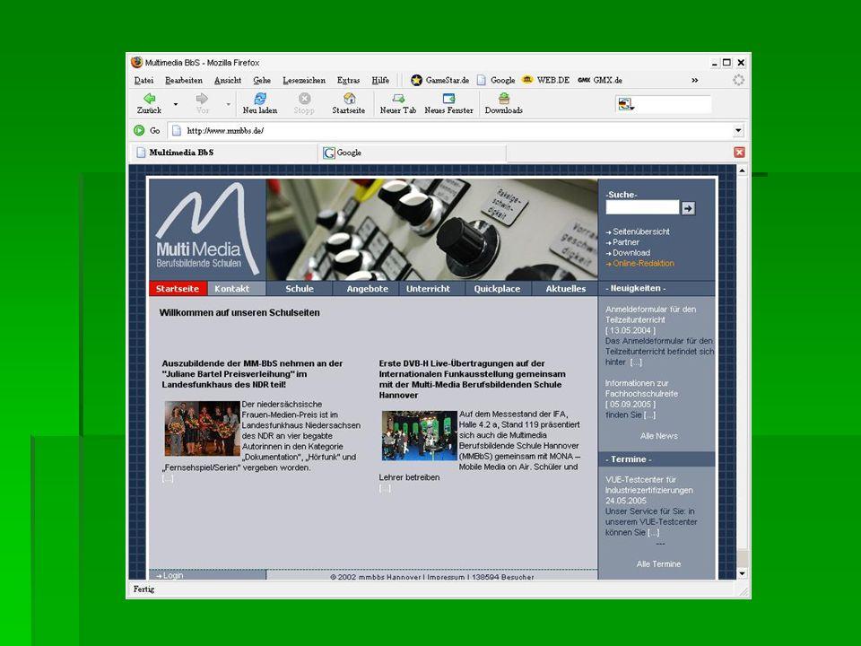 Geschichte Begonnen hat alles mit Tim Berners- Lee und seinem Browser W W W (März 1991) Begonnen hat alles mit Tim Berners- Lee und seinem Browser W W W (März 1991) ersten grafischen Browser, die größere Verbreitung fanden, waren frühe Versionen des NCSA Mosaic (Entwicklung einer Amerikanischen Forschungseinrichtung) ersten grafischen Browser, die größere Verbreitung fanden, waren frühe Versionen des NCSA Mosaic (Entwicklung einer Amerikanischen Forschungseinrichtung) an der Entwicklung des Mosaic beteiligt waren Jim Clark und Marc Andreessen, die damit eine eigene Firma gründeten (Netscape) an der Entwicklung des Mosaic beteiligt waren Jim Clark und Marc Andreessen, die damit eine eigene Firma gründeten (Netscape) aus Mosaic wurde Netscape (großer Erfolg bei Anwendern und später an der Börse) aus Mosaic wurde Netscape (großer Erfolg bei Anwendern und später an der Börse) Der neue Netscape Navigator war seinem Vorgänger vor allem in der Bedienbarkeit überlegen Der neue Netscape Navigator war seinem Vorgänger vor allem in der Bedienbarkeit überlegen