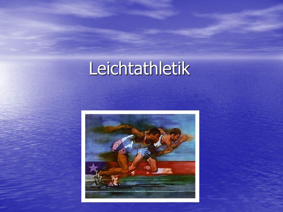 Geschichte der Leichtathletik ersten Olympischen Spiele 776 v.