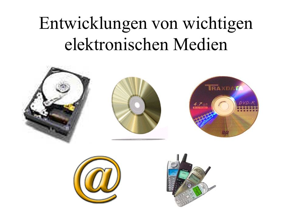 Vorwort 1.Definition von elektronischen Medien 2.