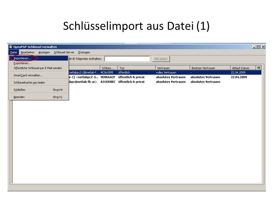 Schlüsselimport aus Datei (1)