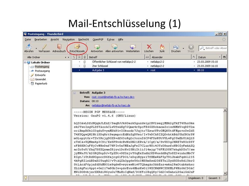 Mail-Entschlüsselung (1)