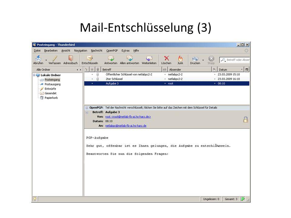Mail-Entschlüsselung (3)