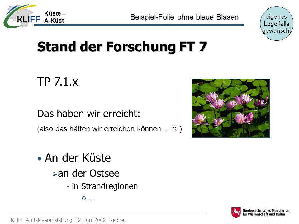 KLIFF-Auftaktveranstaltung | 12.