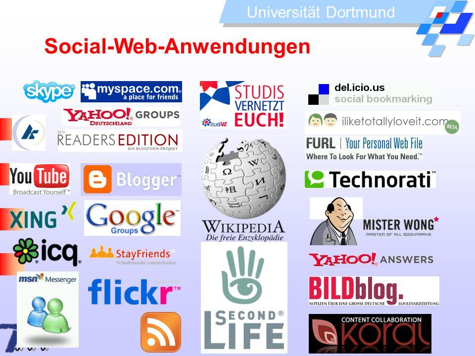 Universität Dortmund Social-Web-Anwendungen