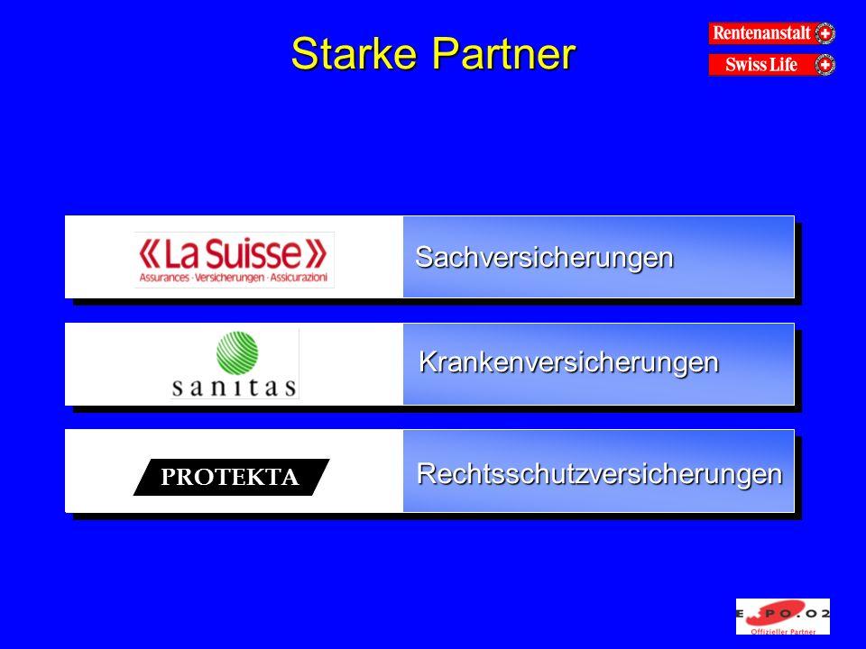 Starke Partner Sachversicherungen Krankenversicherungen Rechtsschutzversicherungen PROTEKTA