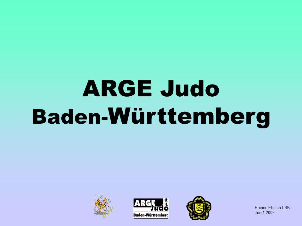 Rainer Ehrlich LSK Juni1 2003 ARGE Judo Baden- Württemberg