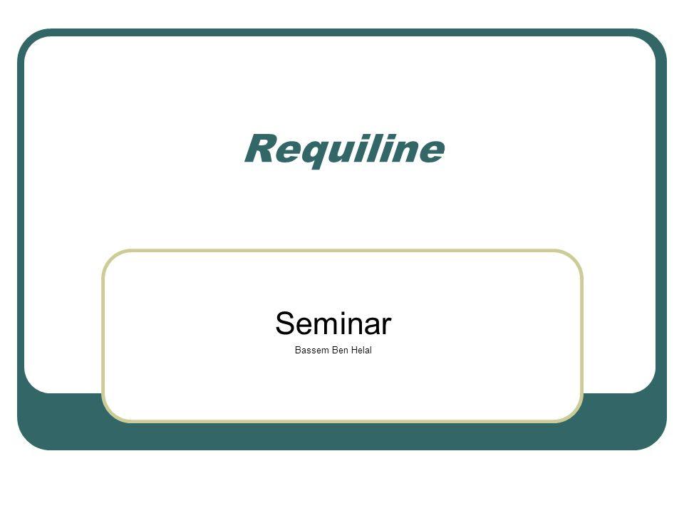 Requiline Seminar Bassem Ben Helal